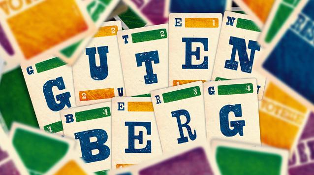 Dîtes oui aux jeux de lettres avec Gutenberg!