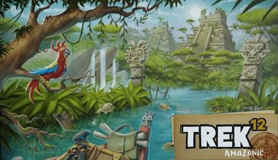 Treck 12 Amazonie : une nouvelle aventure Roll & Write dépaysante !